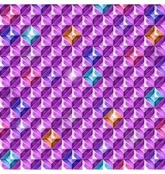 Colored diamonds texture vector