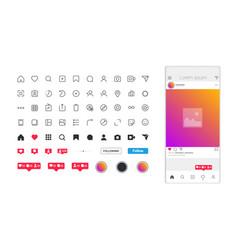 Flat design app concept vector