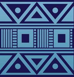 geometric ornament for ceramics wallpaper vector image