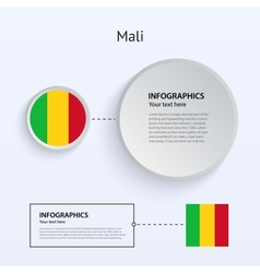 Mali Country Set of Banners vector