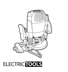 Outline mill tool vector