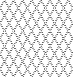 Seamless diamonds latticed pattern vector