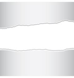 Torn sheet vector