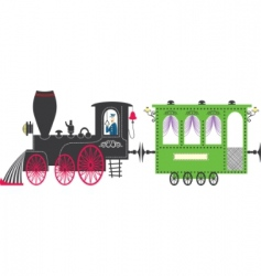 train vector image