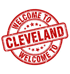 Welcome to cleveland vector