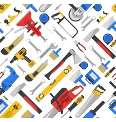 Work Tools Seamless Pattern vector image