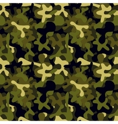 Military camouflage pattern to disguise in the vector