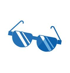 cartoon sunglasses acessory fashion optical image vector image