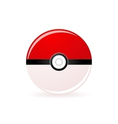 pokeball vector image