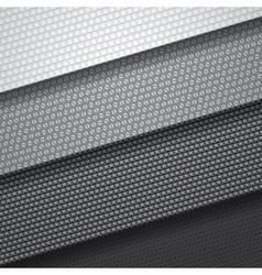 background four carbon fiber patterns vector image