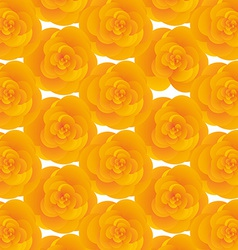Background texture of yellow cute flowers vector image