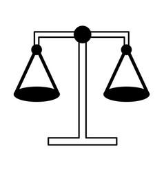 Balance justice law vector