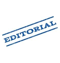 Editorial Watermark Stamp vector