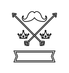 Hipster lifestyle symbol vector