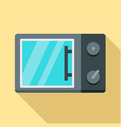 microwave icon flat style vector image