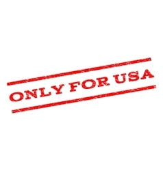 Only for usa watermark stamp vector