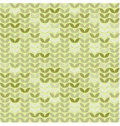 retro giometric seamless circles green vector image