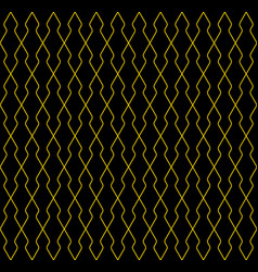 Seamless geometric pattern lines in brown color vector