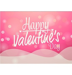 valentines love card vector image