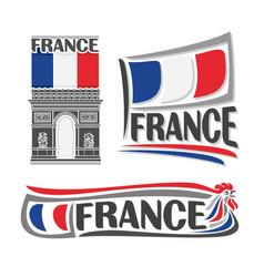 Logo for france vector