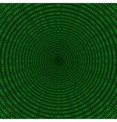 matrix circular pattern vector image