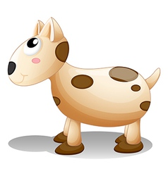 A toy puppy vector