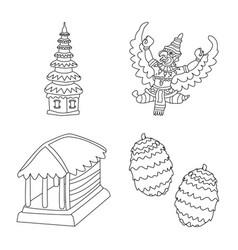 Balinese and caribbean logo vector