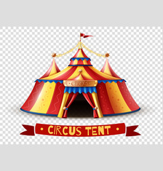 Circus tent transparent background image vector