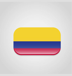 colombia flag design vector image
