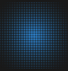 halftone circle pattern background design - vector image vector image