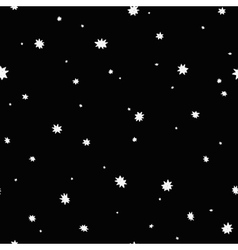 seamless space background vector image