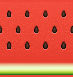 seamless watermelon texture background vector image