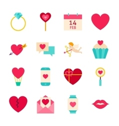 Valentines Day Love Objects vector image
