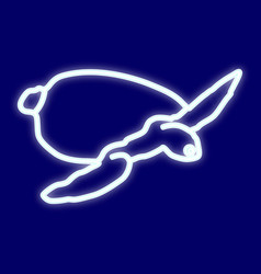 a picture of a turtle vector image
