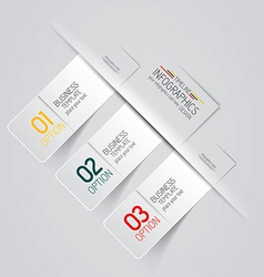 design infographics 3 vector image vector image
