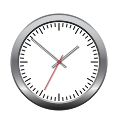 Wall mechanical clock vector image vector image