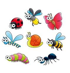 Bugs 1 snail vector