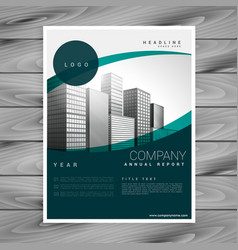 Business flyer poster design leaflet template vector