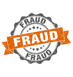 Fraud stamp sign seal vector