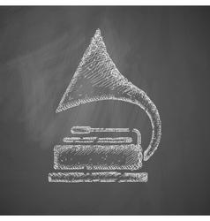 Gramophone icon vector