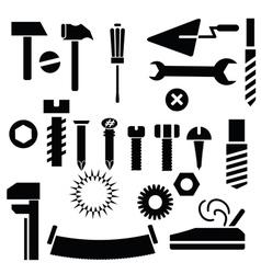 Hand tools vector