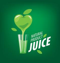 Logo of fresh juice vector