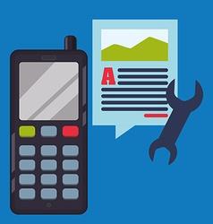 Mobile Phone design vector