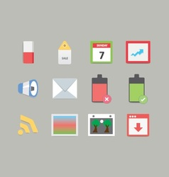 Modern Web Icons 2 vector