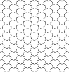 Seamless Geometric Pattern Regular Tiled Ornament vector image