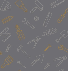 Working tools seamless pattern vector
