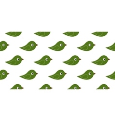 Seamless icon birds vector