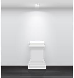 exhibition column vector image vector image