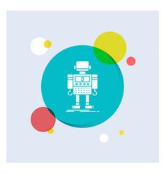 Autonomous machine robot robotic technology white vector
