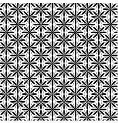 Black flowers on white background vector